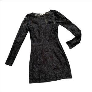 Alexis Lace Bodycon Short Dress Size S C3